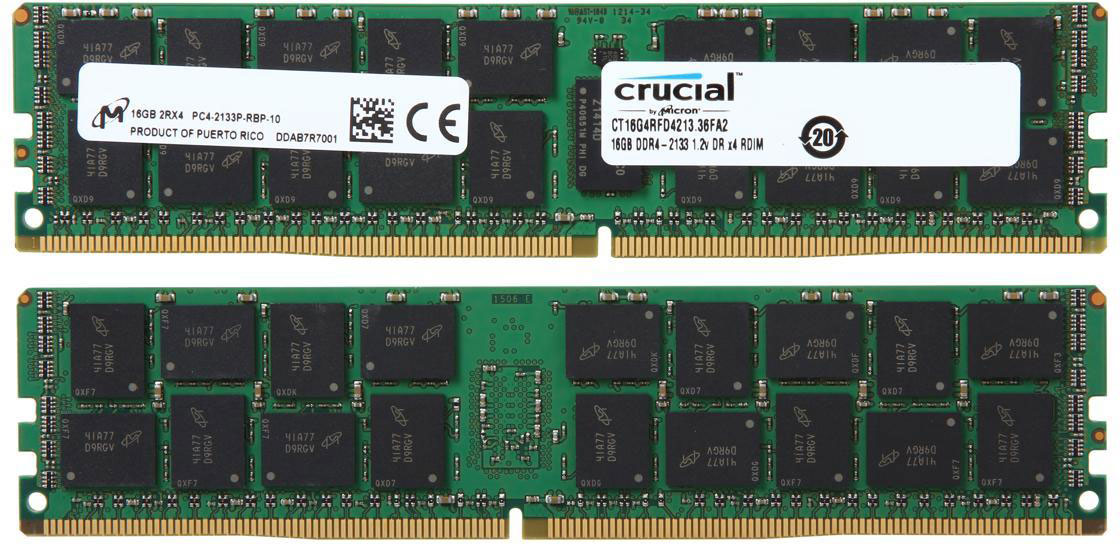 Photo of Crucial RAM sticks