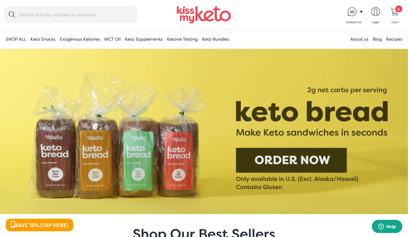 Nini reports that Kiss My Keto pays no commission on sales of bread or during sitewide discounts