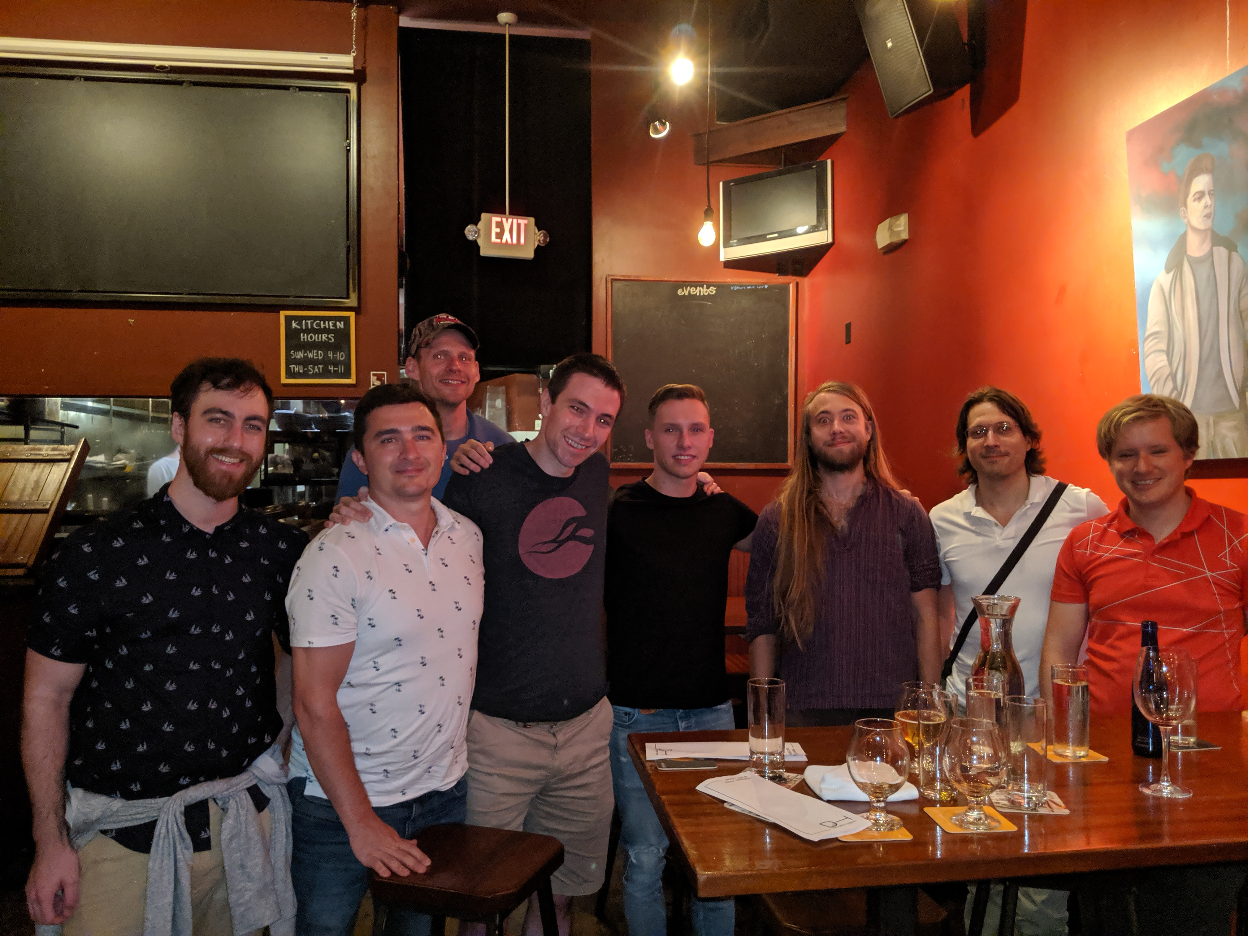 Group photo of Indie Hackers meetup
