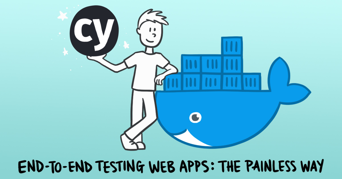 A reusable template for testing web apps (cover image)