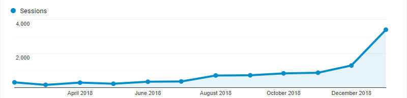 Google Analytics - Jan. 2019