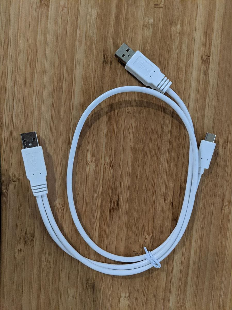 Photo of Y-cable
