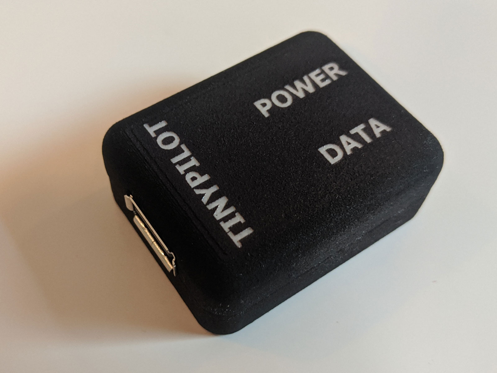 Photo of black case for power connector