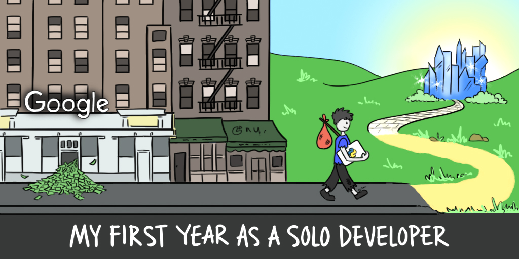 My first year as a solo developer (cover image)