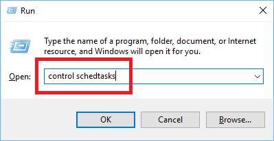 Run Task Scheduler